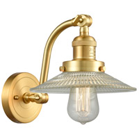 Innovations Lighting 515-1W-SG-G2-LED Halophane LED 9 inch Satin Gold Sconce Wall Light Franklin Restoration