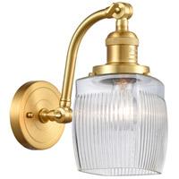 Innovations Lighting 515-1W-SG-G302 Colton 1 Light 6 inch Satin Gold Sconce Wall Light Franklin Restoration