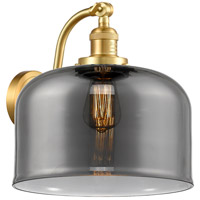 Innovations Lighting 515-1W-SG-G73-L X-Large Bell 1 Light 12 inch Satin Gold Sconce Wall Light Franklin Restoration