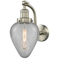 Innovations Lighting 515-1W-SN-G165-LED Geneseo LED 7 inch Satin Nickel Sconce Wall Light Franklin Restoration