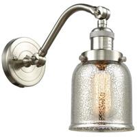 Innovations Lighting 515-1W-SN-G58 Small Bell 1 Light 5 inch Satin Nickel Sconce Wall Light Franklin Restoration