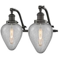 Innovations Lighting 515-2W-OB-G165-LED Geneseo LED 18 inch Oil Rubbed Bronze Bath Vanity Light Wall Light Franklin Restoration