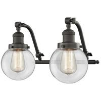 Innovations Lighting 515-2W-OB-G202-6-LED Beacon LED 16 inch Oil Rubbed Bronze Bath Vanity Light Wall Light Franklin Restoration