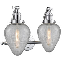 Polished Chrome Geneseo Bathroom Vanity Lights