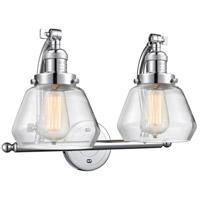 Innovations Lighting 515-2W-PC-G172-LED Fulton LED 18 inch Polished Chrome Bath Vanity Light Wall Light Franklin Restoration