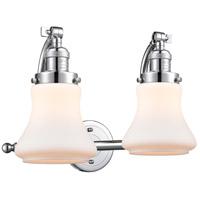 Innovations Lighting 515-2W-PC-G191 Bellmont 2 Light 18 inch Polished Chrome Bath Vanity Light Wall Light Franklin Restoration