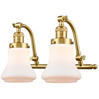 Innovations Lighting 515-2W-SG-G191-LED Bellmont LED 18 inch Satin Gold Bath Vanity Light Wall Light Franklin Restoration