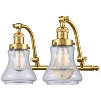 Innovations Lighting 515-2W-SG-G192-LED Bellmont LED 18 inch Satin Gold Bath Vanity Light Wall Light Franklin Restoration