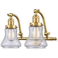 Innovations Lighting 515-2W-SG-G194-LED Bellmont LED 18 inch Satin Gold Bath Vanity Light Wall Light Franklin Restoration