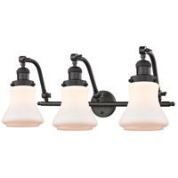 Innovations Lighting 515-3W-OB-G191 Bellmont 3 Light 28 inch Oil Rubbed Bronze Bath Vanity Light Wall Light Franklin Restoration