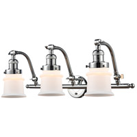 Innovations Lighting 515-3W-PC-G181S Small Canton 3 Light 28 inch Polished Chrome Bath Vanity Light Wall Light Franklin Restoration