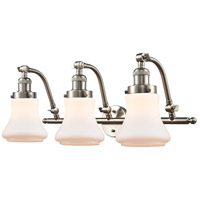 Innovations Lighting 515-3W-SN-G191-LED Bellmont LED 28 inch Brushed Satin Nickel Bath Vanity Light Wall Light Franklin Restoration