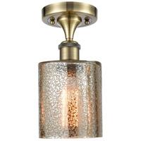 Innovations Lighting 516-1C-AB-G116 Cobbleskill 1 Light 5 inch Antique Brass Semi-Flush Mount Ceiling Light Ballston