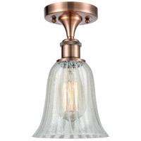 Innovations Lighting 516-1C-AC-G2811-LED Hanover LED 6 inch Antique Copper Semi-Flush Mount Ceiling Light Ballston