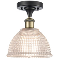 Innovations Lighting 516-1C-BAB-G422-LED Arietta LED 8 inch Black Antique Brass Semi-Flush Mount Ceiling Light Ballston