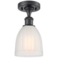 Innovations Lighting 516-1C-BK-G441 Brookfield 1 Light 6 inch Matte Black Semi-Flush Mount Ceiling Light, Ballston
