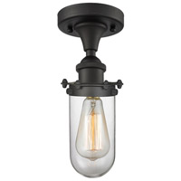 Kingsbury 1 Light 6 inch Oil Rubbed Bronze Flush Mount Ceiling Light