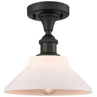 Innovations Lighting 516-1C-OB-G131 Orwell 1 Light 9 inch Oil Rubbed Bronze Semi-Flush Mount Ceiling Light Ballston