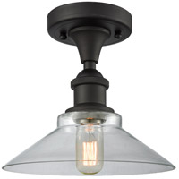 Innovations Lighting 516-1C-OB-G132-LED Orwell LED 9 inch Oil Rubbed Bronze Semi-Flush Mount Ceiling Light