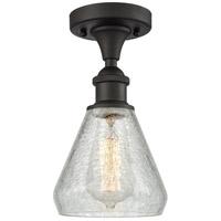 Innovations Lighting 516-1C-OB-G275-LED Conesus LED 6 inch Oil Rubbed Bronze Semi-Flush Mount Ceiling Light