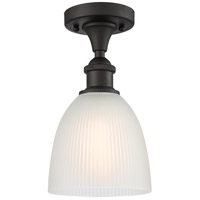 Innovations Lighting 516-1C-OB-G381 Castile 1 Light 6 inch Oil Rubbed Bronze Semi-Flush Mount Ceiling Light Ballston
