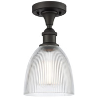Innovations Lighting 516-1C-OB-G382 Castile 1 Light 6 inch Oil Rubbed Bronze Semi-Flush Mount Ceiling Light Ballston