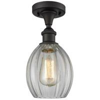 Innovations Lighting 516-1C-OB-G82-LED Eaton LED 6 inch Oil Rubbed Bronze Semi-Flush Mount Ceiling Light Ballston