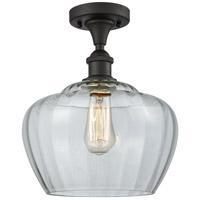 Innovations Lighting 516-1C-OB-G92-L-LED Large Fenton LED 11 inch Oil Rubbed Bronze Semi-Flush Mount Ceiling Light