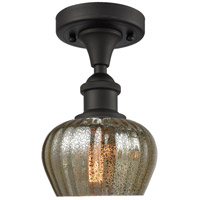 Innovations Lighting 516-1C-OB-G96-LED Fenton LED 7 inch Oil Rubbed Bronze Semi-Flush Mount Ceiling Light
