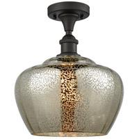 Innovations Lighting 516-1C-OB-G96-L-LED Large Fenton LED 11 inch Oil Rubbed Bronze Semi-Flush Mount Ceiling Light
