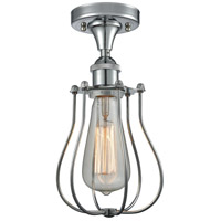 Innovations Lighting 516-1C-PC-513-LED Barrington LED 6 inch Polished Chrome Flush Mount Ceiling Light Austere