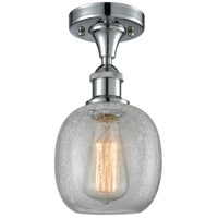 Innovations Lighting 516-1C-PC-G105-LED Belfast LED 6 inch Polished Chrome Semi-Flush Mount Ceiling Light, Ballston