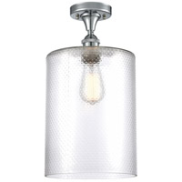 Innovations Lighting 516-1C-PC-G112-L Large Cobbleskill 1 Light 9 inch Polished Chrome Semi-Flush Mount Ceiling Light, Ballston