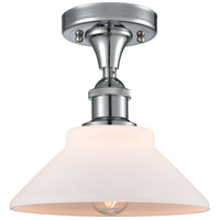 Innovations Lighting 516-1C-PC-G131 Orwell 1 Light 9 inch Polished Chrome Semi-Flush Mount Ceiling Light Ballston