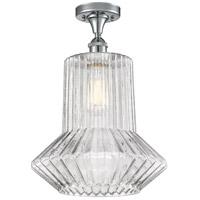 Innovations Lighting 516-1C-PC-G212 Springwater 1 Light 12 inch Polished Chrome Semi-Flush Mount Ceiling Light, Ballston
