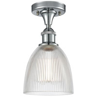 Innovations Lighting 516-1C-PC-G382 Castile 1 Light 6 inch Polished Chrome Semi-Flush Mount Ceiling Light Ballston