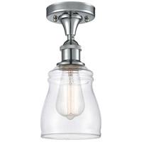 Innovations Lighting 516-1C-PC-G392 Ellery 1 Light 5 inch Polished Chrome Semi-Flush Mount Ceiling Light, Ballston