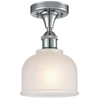 Innovations Lighting 516-1C-PC-G411 Dayton 1 Light 6 inch Polished Chrome Semi-Flush Mount Ceiling Light Ballston