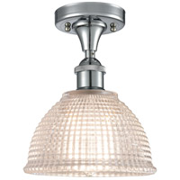 Innovations Lighting 516-1C-PC-G422-LED Arietta LED 8 inch Polished Chrome Semi-Flush Mount Ceiling Light Ballston