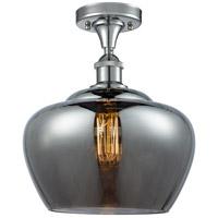 Innovations Lighting 516-1C-PC-G93-L-LED Large Fenton LED 11 inch Polished Chrome Semi-Flush Mount Ceiling Light