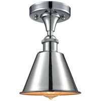 Smithfield 1 Light 7 inch Polished Chrome Semi Flush Mount Ceiling Light