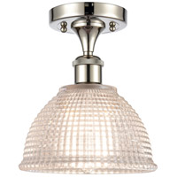 Innovations Lighting 516-1C-PN-G422-LED Arietta LED 8 inch Polished Nickel Semi-Flush Mount Ceiling Light Ballston