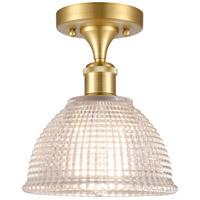 Innovations Lighting 516-1C-SG-G422 Arietta 1 Light 8 inch Satin Gold Semi-Flush Mount Ceiling Light, Ballston
