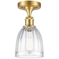 Innovations Lighting 516-1C-SG-G442 Brookfield 1 Light 6 inch Satin Gold Semi-Flush Mount Ceiling Light
