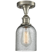 Innovations Lighting 516-1C-SN-G257-LED Caledonia LED 5 inch Brushed Satin Nickel Flush Mount Ceiling Light