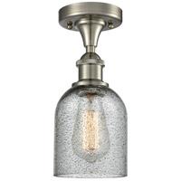 Innovations Lighting 516-1C-SN-G257 Caledonia 1 Light 5 inch Brushed Satin Nickel Flush Mount Ceiling Light