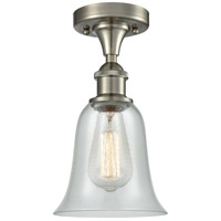 Innovations Lighting 516-1C-SN-G2812 Hanover 1 Light 6 inch Brushed Satin Nickel Flush Mount Ceiling Light Ballston