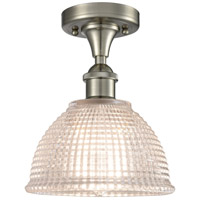 Innovations Lighting 516-1C-SN-G422-LED Arietta LED 8 inch Satin Nickel Flush Mount Ceiling Light Ballston