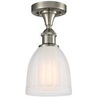 Innovations Lighting 516-1C-SN-G441 Brookfield 1 Light 6 inch Satin Nickel Semi-Flush Mount Ceiling Light, Ballston