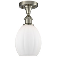 Innovations Lighting 516-1C-SN-G81 Eaton 1 Light 6 inch Satin Nickel Semi-Flush Mount Ceiling Light, Ballston